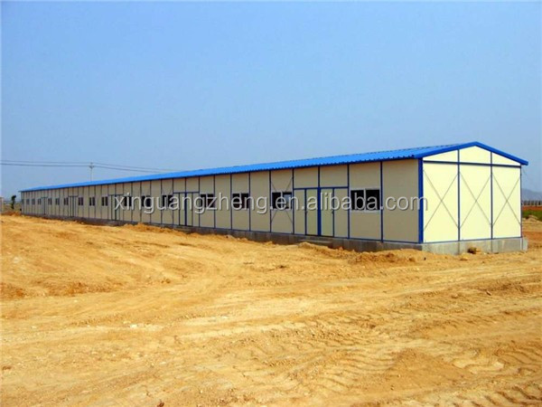 flexible light prefabricated 3 bedroom house