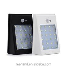 Wholesale Solar panel cordless motion sensor light For outdoor use ...