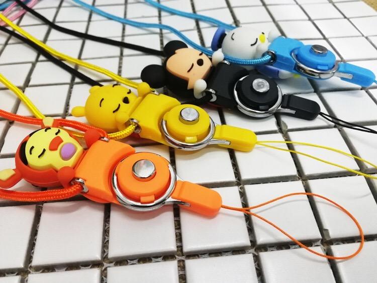 Creative cartoon rope animal pattern strap mobile phone accessory