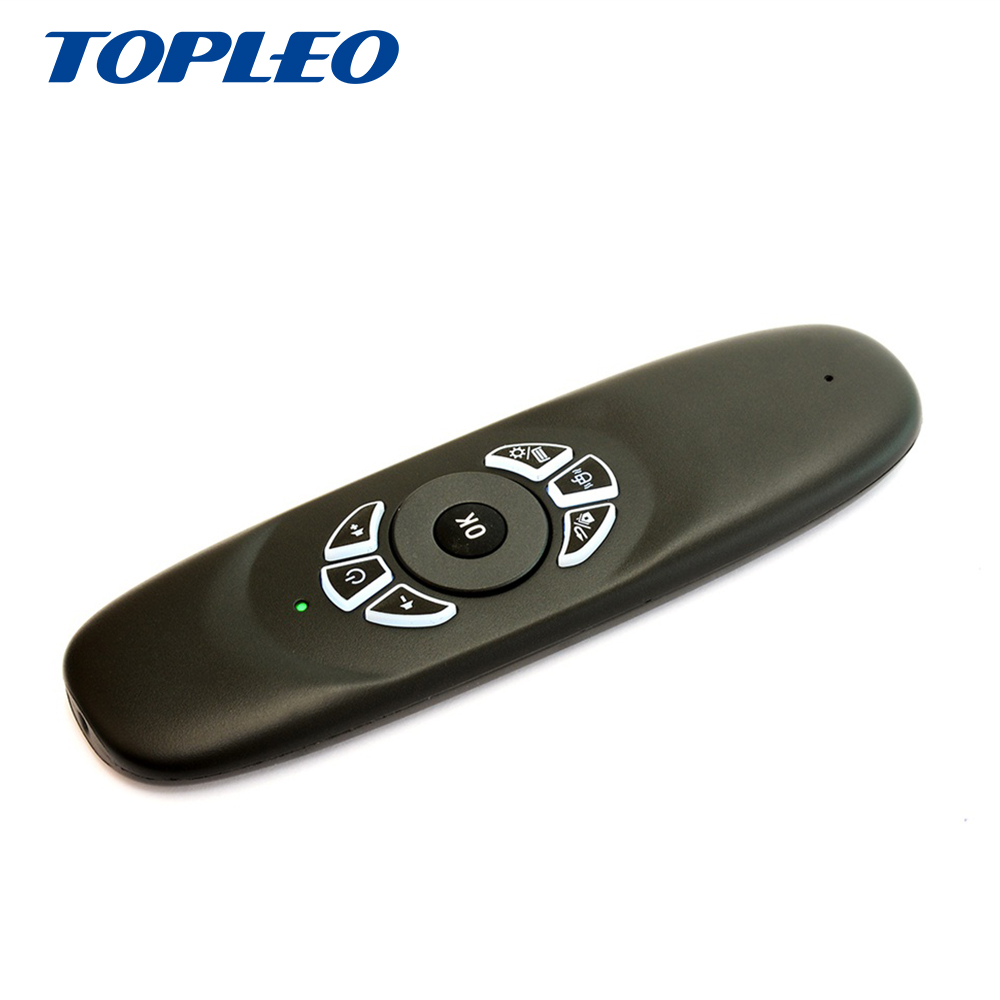 2.4G oplaadbare Dual Side 3D wireless Air Mouse mini toetsenbord C120 air mouse remote