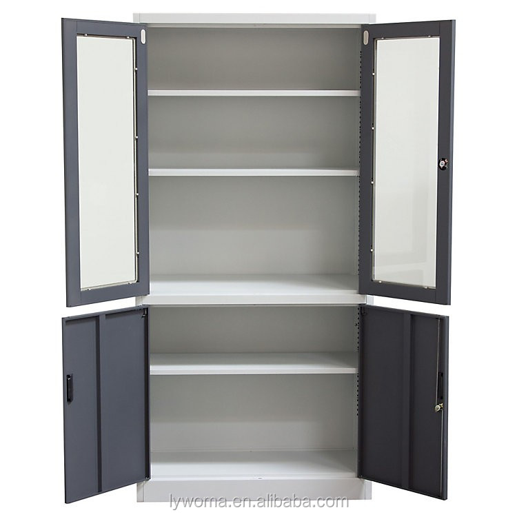 New design steel furniture for office use book cupboard for Off the shelf cabinets