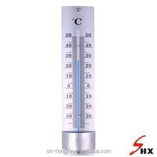 Metal blue liquid Thermometer