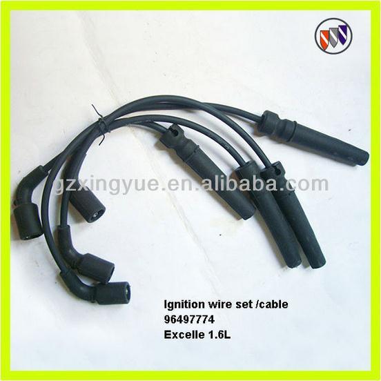 ignition cable spark plug wire set 96497774 96497773. Black Bedroom Furniture Sets. Home Design Ideas