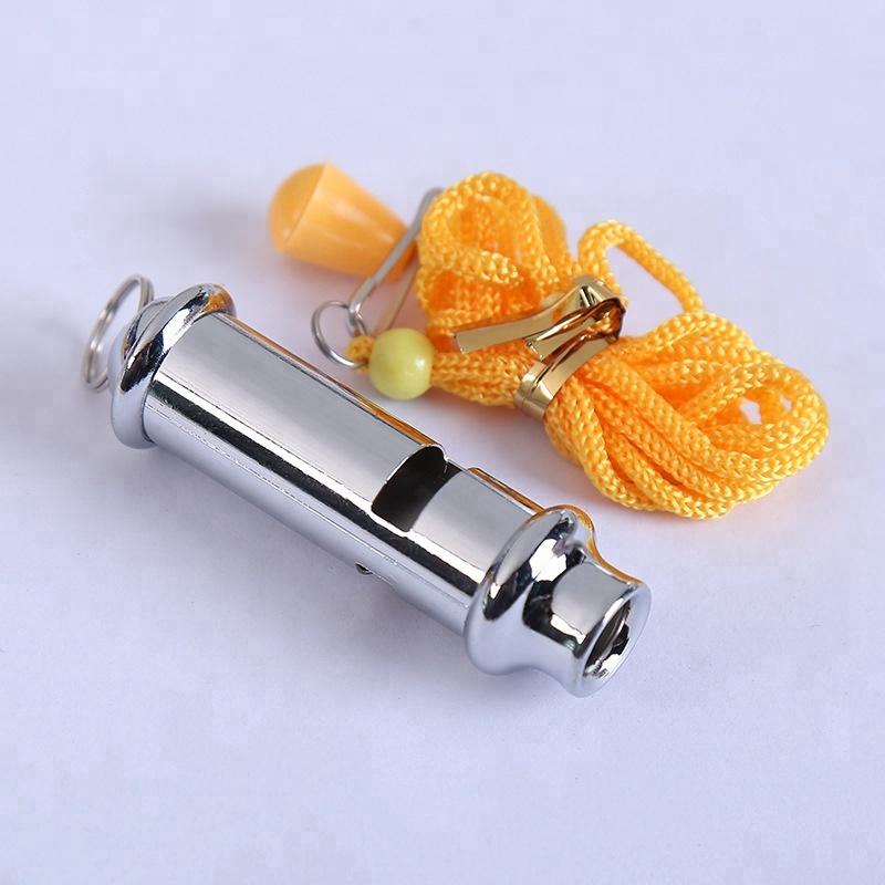 Doppelte hohe Dezibel-Rohr-Überlebens-Pfeife-im Freiennotpfeife-Schlüsselkette