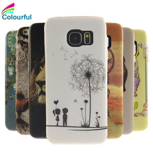 New Luxury Paitn TPU Cartoon Case For Samsung Galaxy S7 Edge G935 S7edge Duos Case Silicone Gel Soft Protective Back Cover Skin