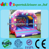 Children birthday party inflatable moonwalker used backyard air bouncer for kids