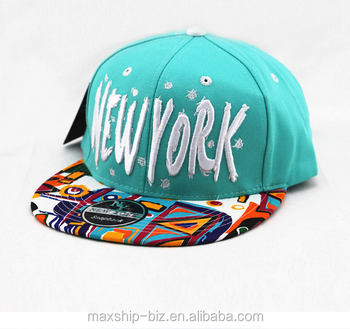 d8ddb74f5fd 3D embroidery printed logo flat wide brim korea snapback 6 panel baseball  cap hiphop yupoong hat