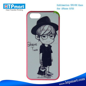 Hot selling Sublimation PC Phone Case for iphone 5 / 5S of Fast Delivery