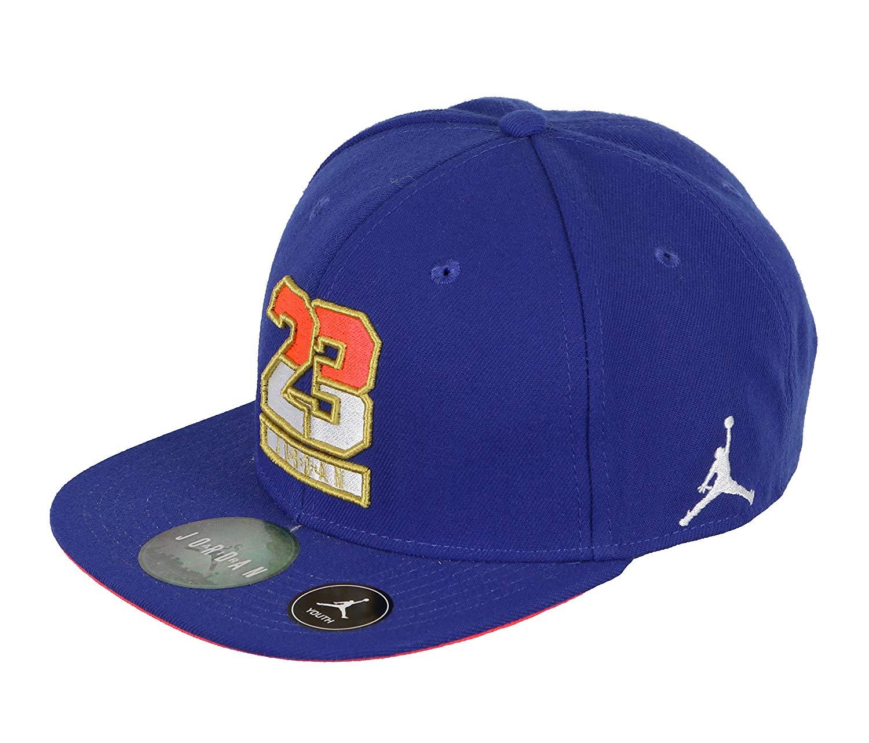 e7dc4d7a6d2 Get Quotations · Jordan Kid's Retro VII Dream Snapback Cap Royal Blue