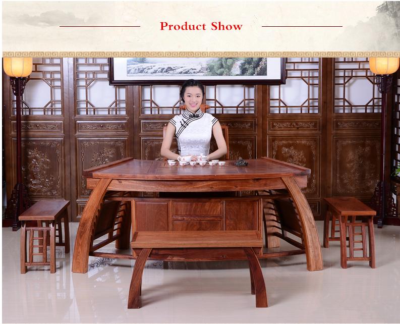 Mahagoni holz möbel  Authentische Mahagoni Holz Möbel Arabischen Stil Couchtische Und ...