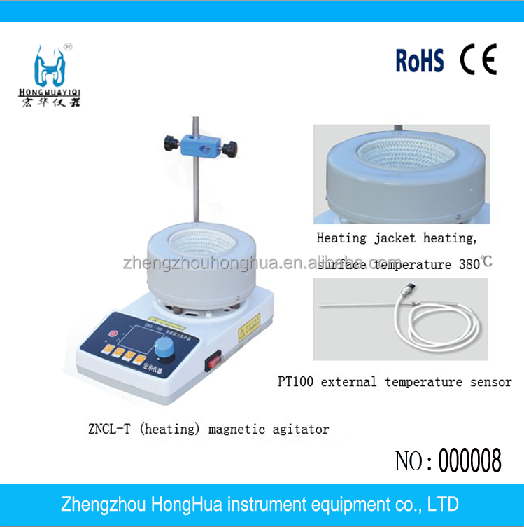 ZNCL-T100 Cheap Magnetic Stirrer with Hot Plate