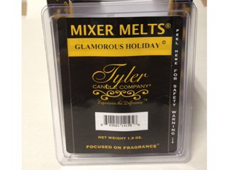 Tyler Candle Mixer Melts Wax Potpourri - Glamorous Holiday
