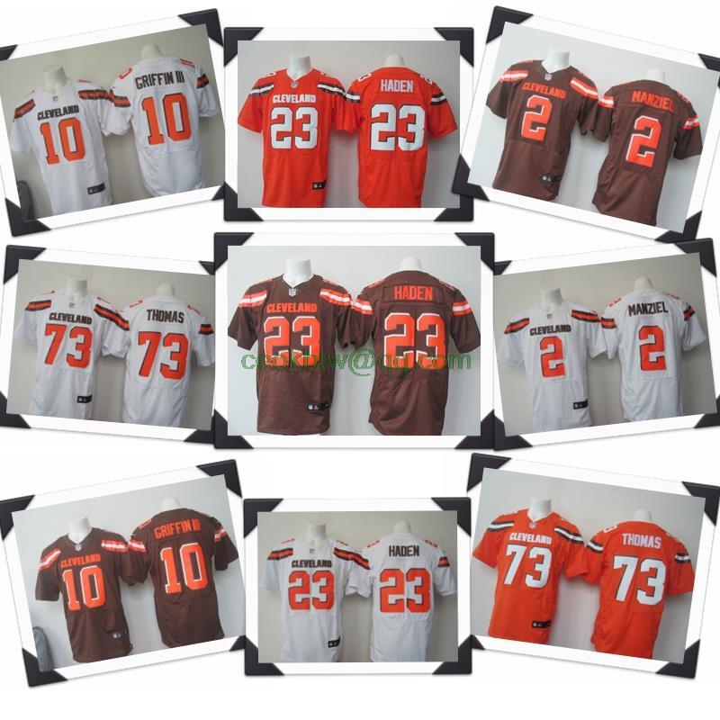 Men S Cleveland Browns Joe Thomas Nike White Elite Jersey