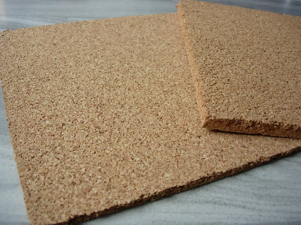 floating floor accessory, rubber cork underlay for heat and sound insulation