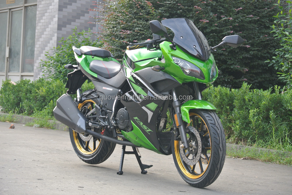 super taiwan gasolin motorcycle with engine 200cc
