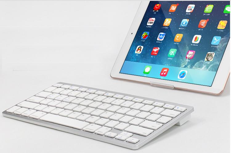 Oem Mini Russian Wireless Keyboard 78 Keys White Bk3001 Buy For Google  Chromecase - Buy Mini Keyboard For Ps4 Slim Controller,Russian Keyboard