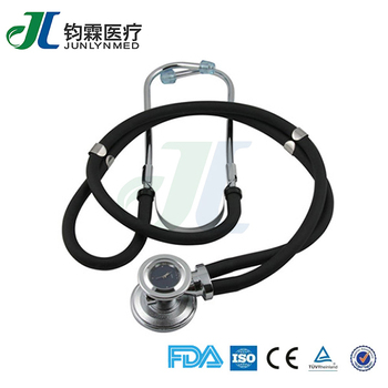 fashion low price double barrel stethoscope watch with clock buy