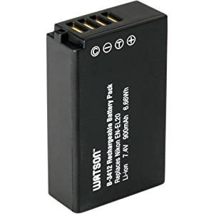 40.5mm 3 Piece Filter Kit SDHC Card USB Reader TWO EN-EL20 Replacement Lithium Ion Battery DavisMAX MicroFiber Cloth for The Nikon 1 J1 Digital SLR Camera DavisMAX ENEL20 Battery Bundle Memory Card Wallet