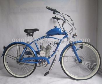 Oem Manufacturing 26 Inch Custom Chopper Beach Cruiser Gas Motor Bike