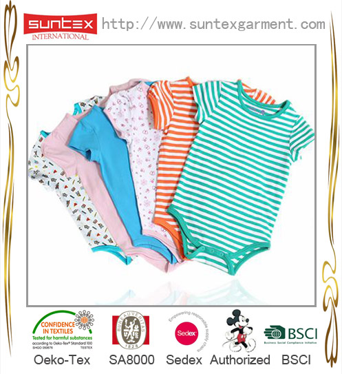 OEKO baby body soft cotton babywear