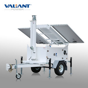 Mobile Solar Powered Trailer VTS900-B