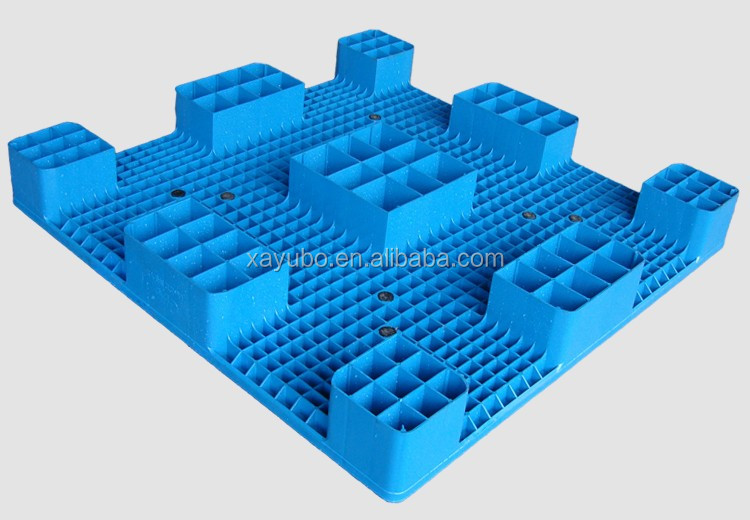 1200*1200 anti-slip euro HDPE packing storage plastic pallet