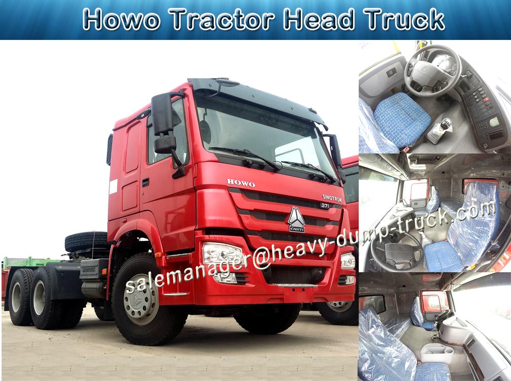 SINOTRUK HOWO 371HP 6x4 트레일러 Head 트랙터 head 트럭 대 한 \ % sale