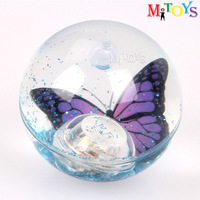 cixi city 55 65 75 85 100mm diameter TPU LED Transparent Ball