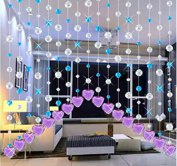 Curtains Ideas curtain rod crystal finials : Crystal Beaded Door Curtain,Curtain Rod Crystal Finial Ocx036 ...