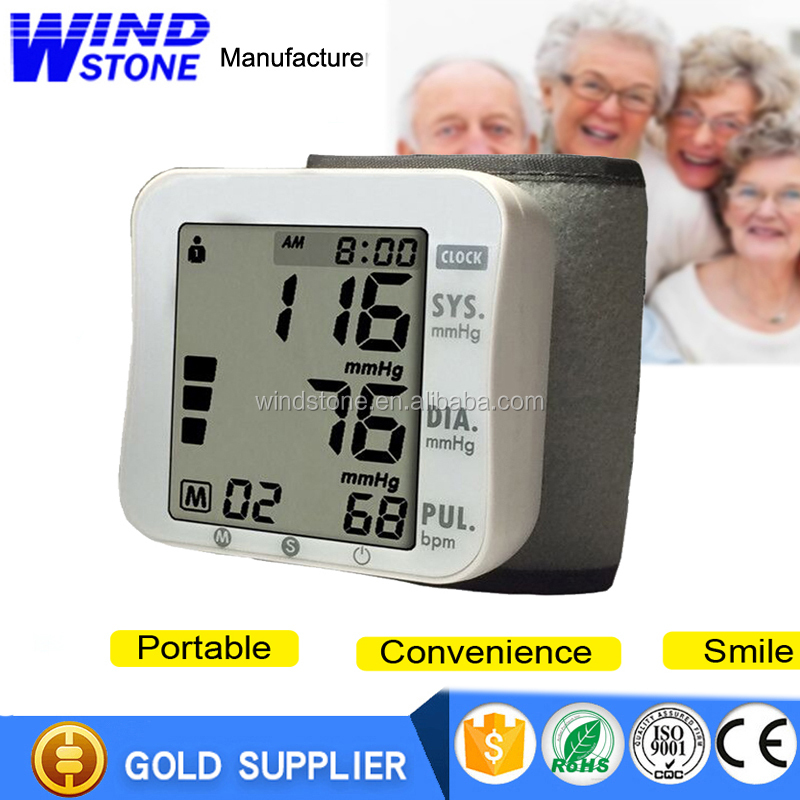 Factory Price Most Popular Digital Blood Pressure Monitor Wrist Blood Pressure Monitor