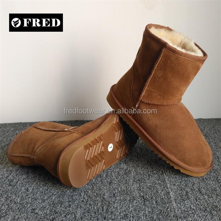 Australia Merino Sheepskin Boots Supplier In China