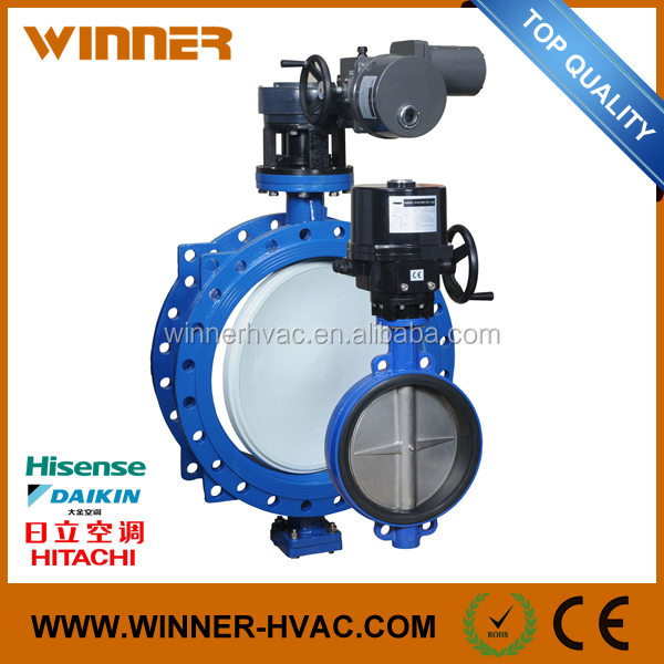 Big Size Top Quality Automatic Electric Butterfly Valve
