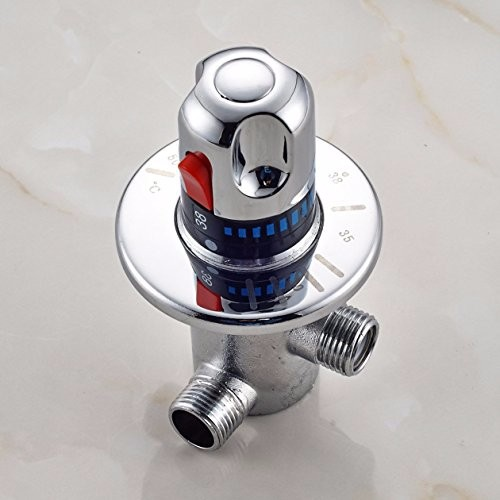 Freuer Faucets Temperature Mixing Valve For Touchless: Brass Thermostatic Mixing Valve,Temperature Control For