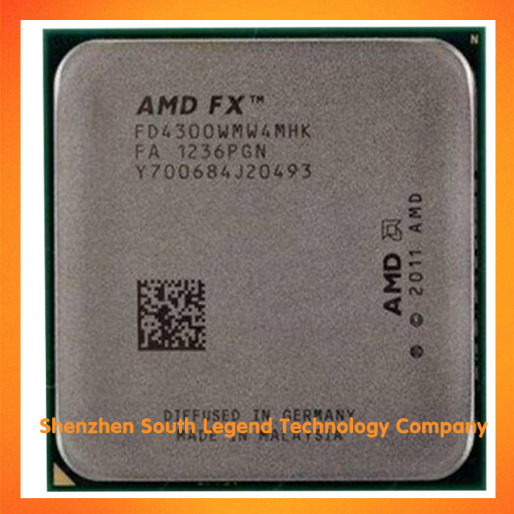 Amd Fx 4300 Am3+ 3 8ghz 8mb Cpu Processor - Buy Amd Cpu Product on  Alibaba com