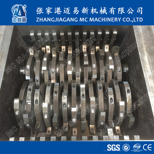 New design Industry Plastic Crate Double Shaft Shredder
