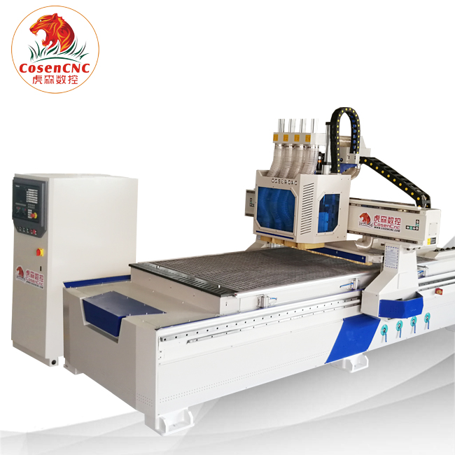 Cosen cnc Competitive price China ATC 1325 carpenter carving machine CNC router