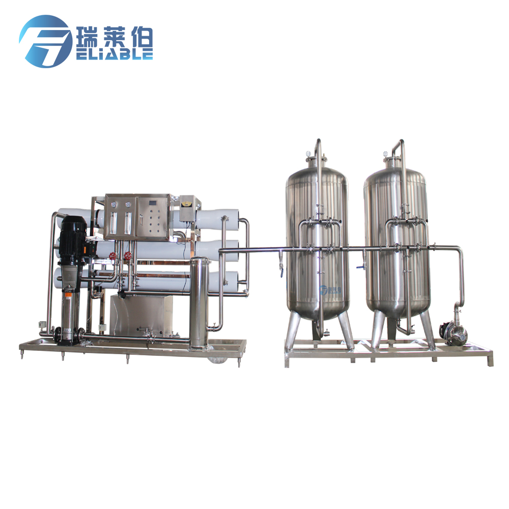 Food grade water production system machine for water purification