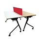 Convenient Folding Mobile Conference Table With A Laminated Top