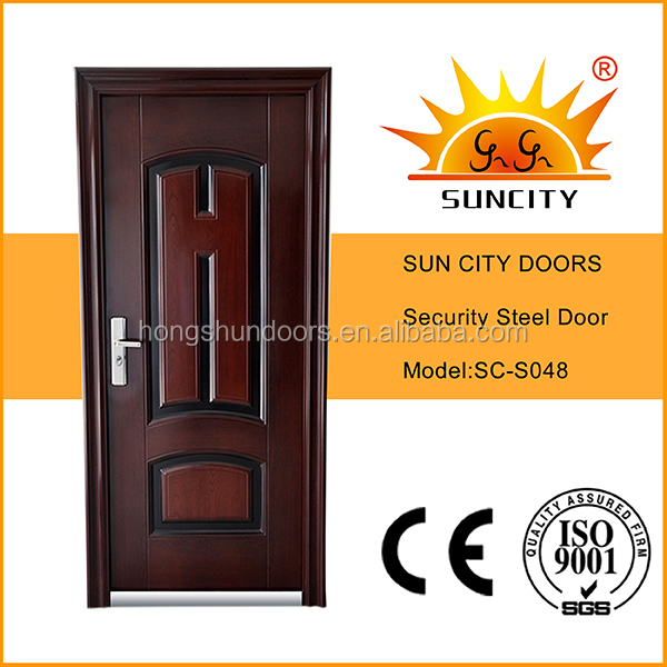 Strongly recommeded Ghana steel door SC-S048