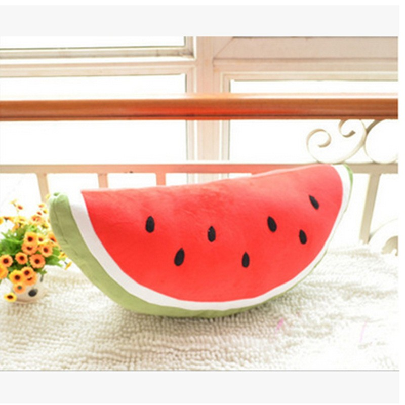 cute popular 2017 stuff toys watermelon gifts pillow plush toy