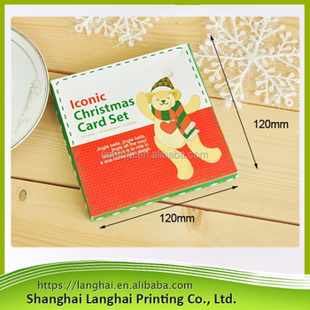 2017 hot new products promotion gift eco friendly hot christmas cardbulk buy from