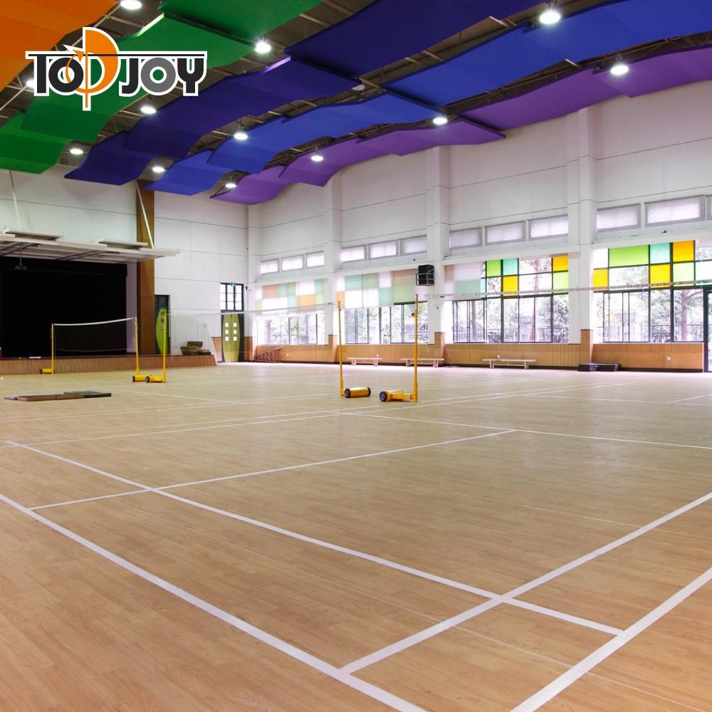 Houten Bouwen Indoor Basketbalveld Sportvloeren