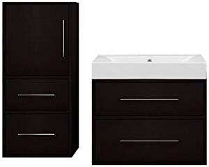 Willow Creek Cabinets 39-Inch Fresco Vanity Set with Drawer Box, 15-Inch