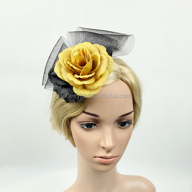 Wholesale Alibaba Designer Races Party Flower Wedding Hats And fascinators