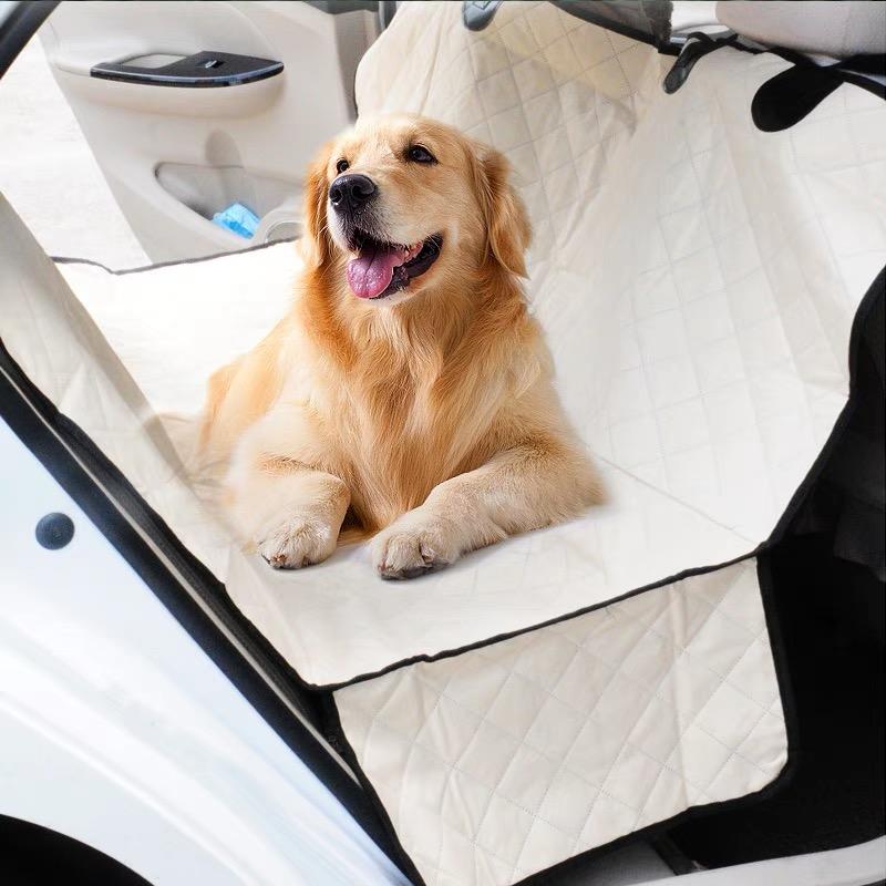 Водонепроницаемый целевой собака кровати для автомобиля на заднем сиденье чехлы авто pet сиденье протектор