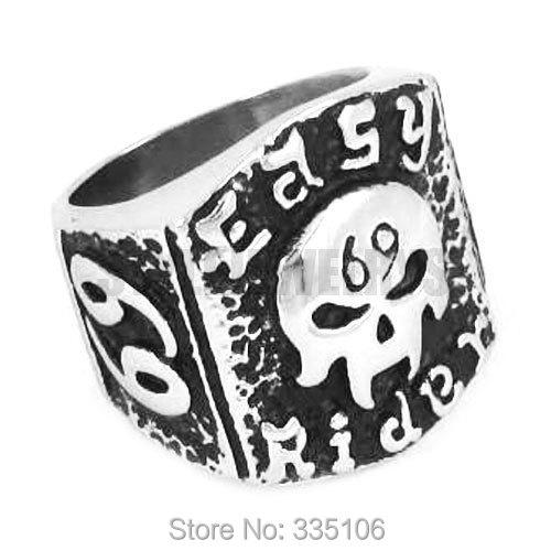 Bishilin Stainless Steel Rings Vintage Number 1314 Wedding Ring Men Gold Size 7