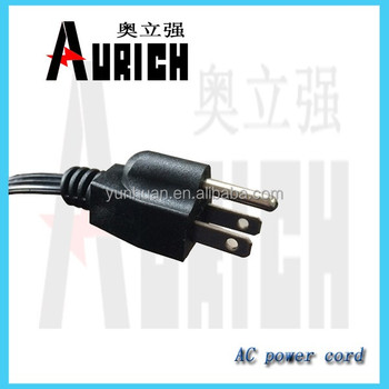 American Type Ul Power Cable And Wire Home Appliance Power Plug ...