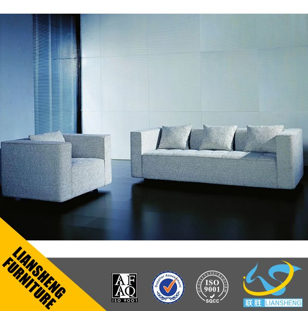Classic popular office tough fabric sofa