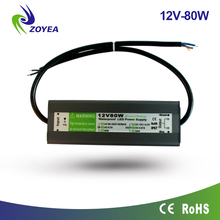 FSV-80-12 CE ROHS certificated power supply led 12v 6.66A 80w