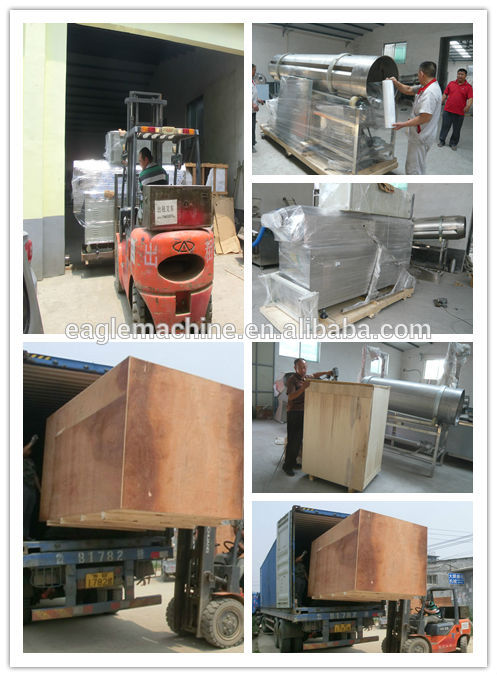 textured soybean protein vegetarian meat making machine processing line